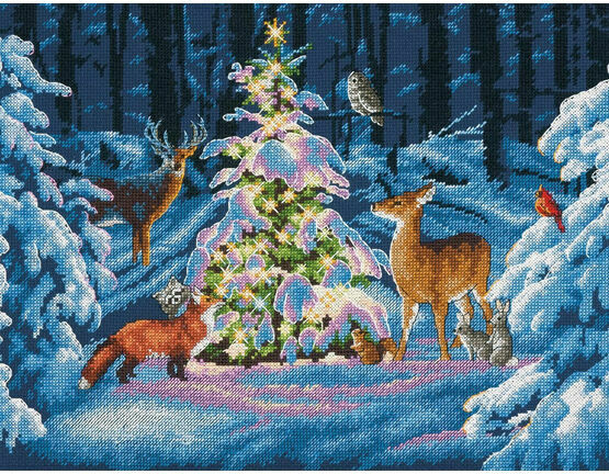 Woodland Glow Cross Stitch Kit