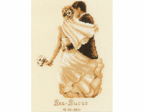 Private Moment Cross Stitch Kit