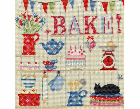 Bake Cross Stitch Kit