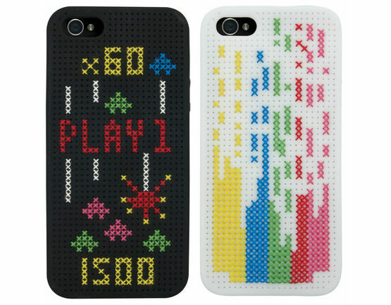 iPhone 5 Arcade Cross Stitch Phone Cases Kit - Set Of 2