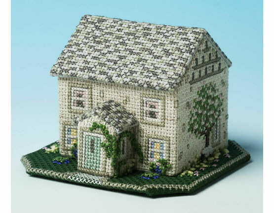 Dales Cottage 3D Cross Stitch Kit