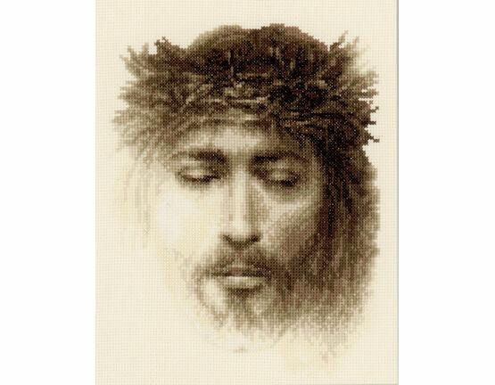 Jesus Cross Stitch Kit