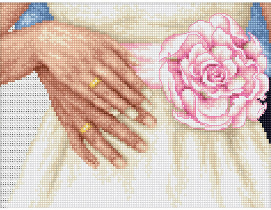 Together Cross Stitch Kit