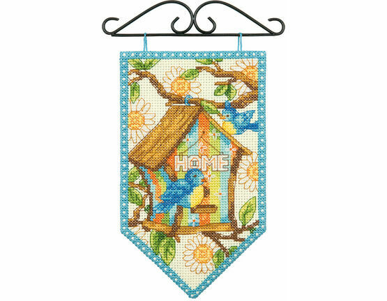 Spring Banner Cross Stitch Kit