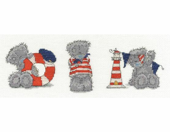 Tatty Teddy Three Little Sailors Cross Stitch Kit