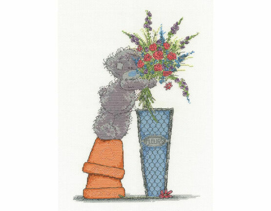 Tatty Teddy Fresh Bouquet Cross Stitch Kit