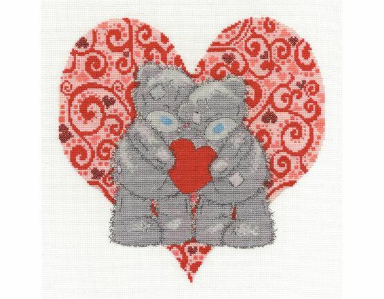 Tatty Teddy Love Bears Cross Stitch Kit