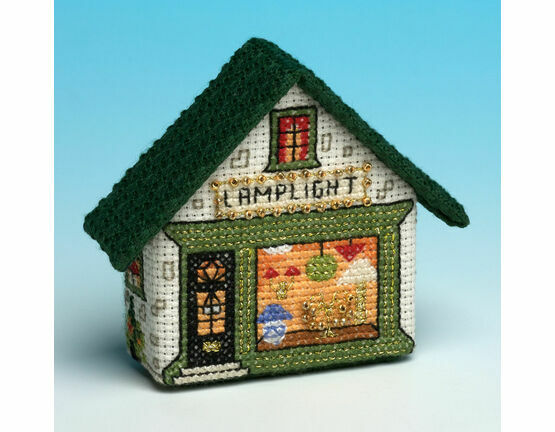 Lamplight 3D Fridge Magnet Cross Stitch Kit