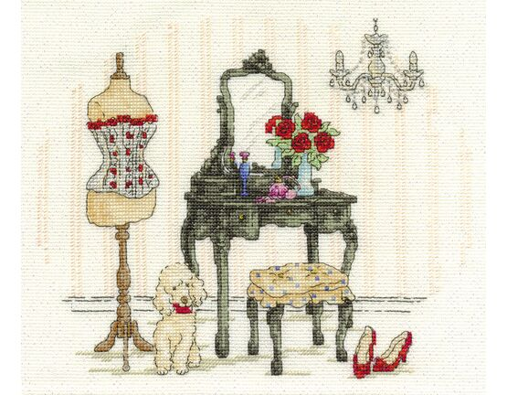 Le Boudoir Cross Stitch Kit