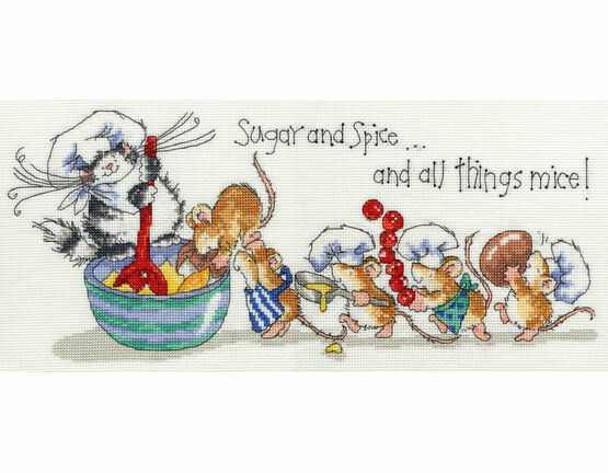 Sugar & Spice Cross Stitch Kit
