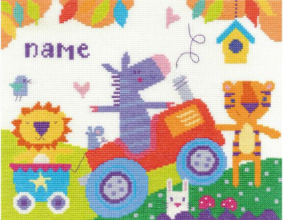 Fun Day Cross Stitch Kit