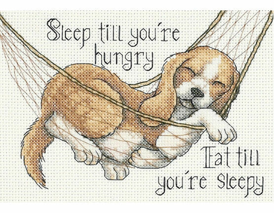The Good Life Cross Stitch Kit