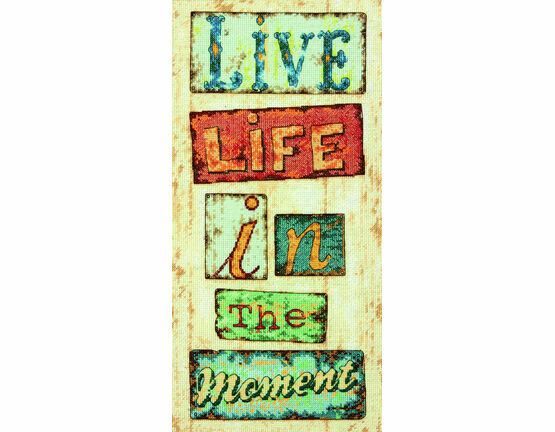 In The Moment Cross Stitch Kit