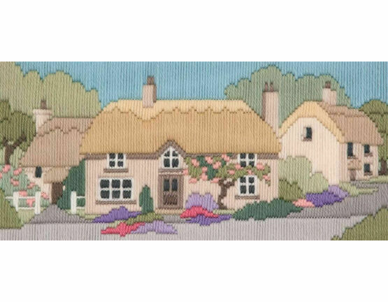 Rose Lane Long Stitch Kit