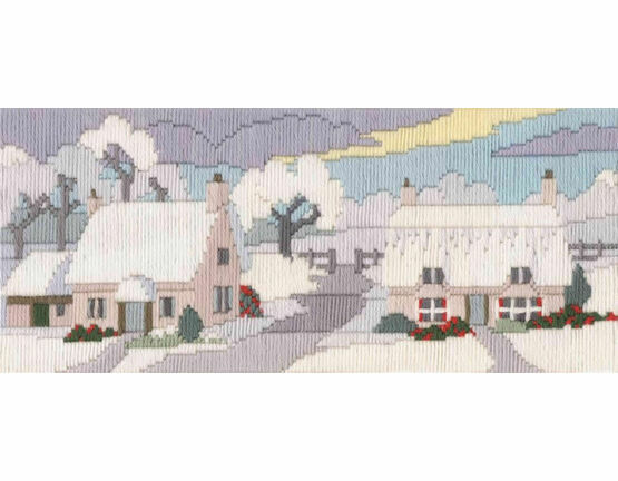 Snowy Lane Long Stitch Kit