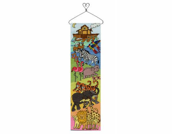 Noah's Ark Hang-Up Cross Stitch Kit