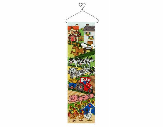 Farm Hang-Up Cross Stitch Kit