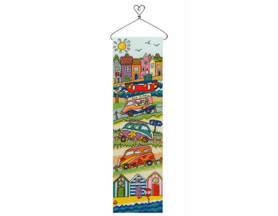 Seaside Hang-Up Cross Stitch Kit