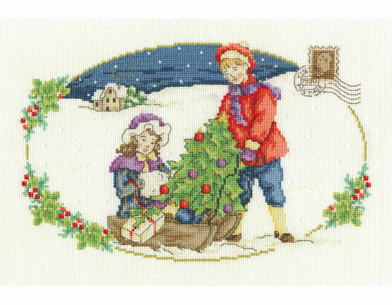 The Christmas Tree Cross Stitch Kit