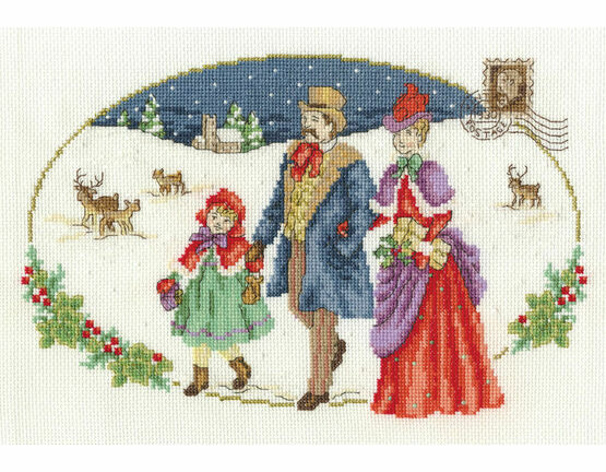 Family Visit Cross Stitch Kit