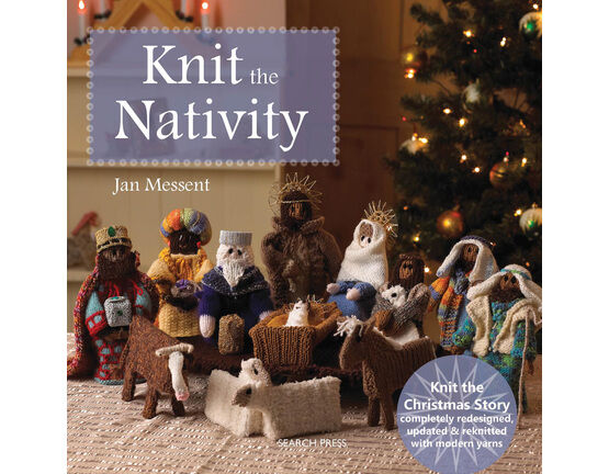 Knit The Nativity Book