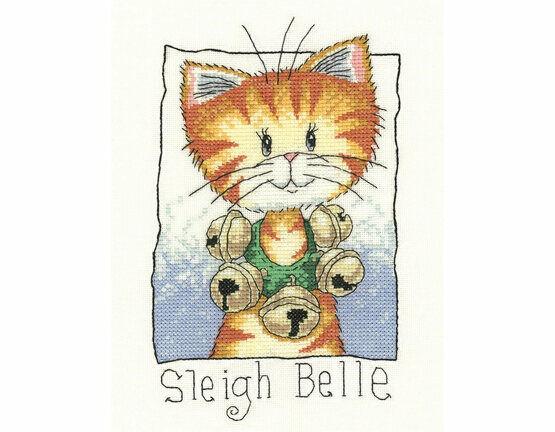 Sleigh Belle Cross Stitch Kit