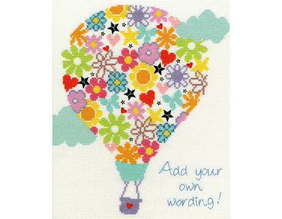 Balloon Bouquet Cross Stitch Kit
