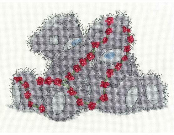 Tatty Teddy Daisy Chain Cross Stitch Kit