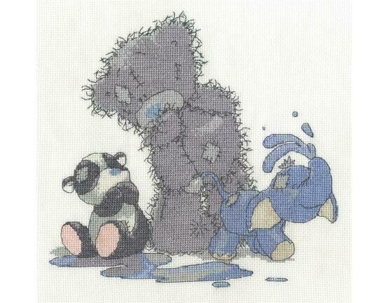 Making A Splash Cross Stitch Kit - Tatty Teddy & My Blue Nose Friends