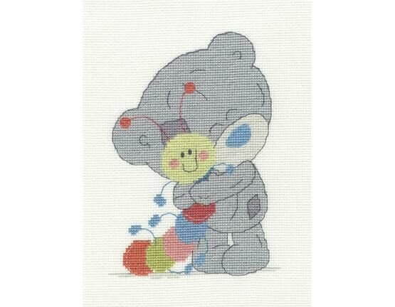 My Friend Mr Caterpillar Cross Stitch Kit - Tiny Tatty Teddy