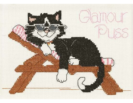 Glamour Puss Cross Stitch Kit