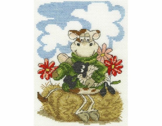 Feeding Time Cross Stitch Kit