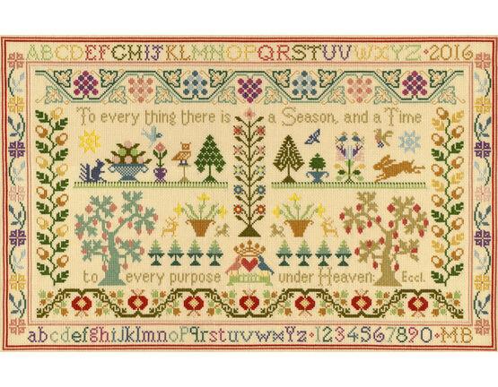 Season And Time Cross Stitch Kit