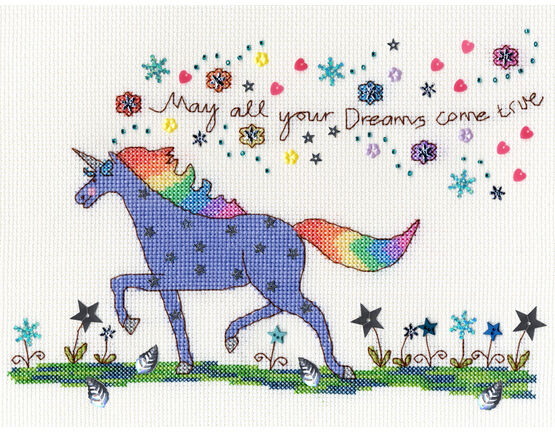 Love Dreams Cross Stitch Kit