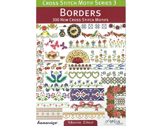 Borders Cross Stitch Chart Book