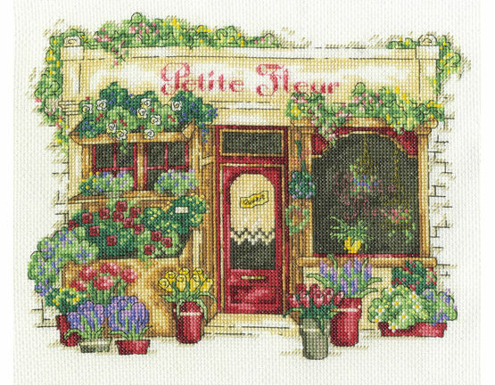 Le Fleuriste Cross Stitch Kit