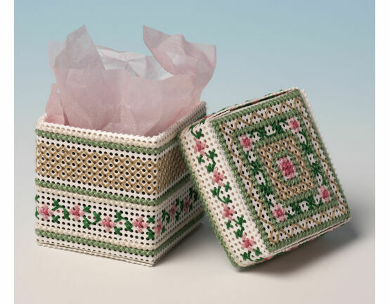 Apple Blossom Box 3D Cross Stitch Kit