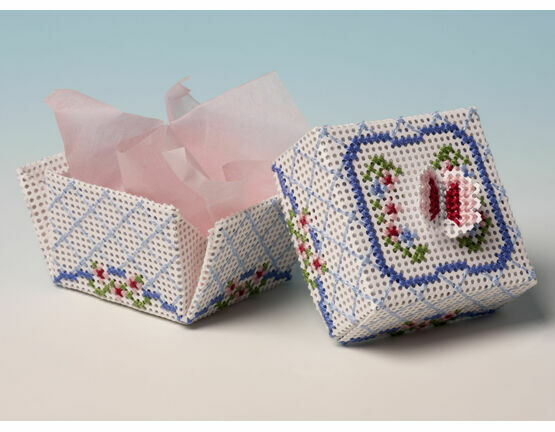 Butterfly Box 3D Cross Stitch Kit