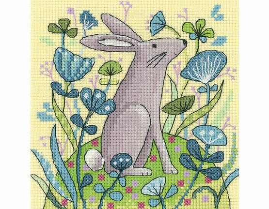 Hare Cross Stitch Kit