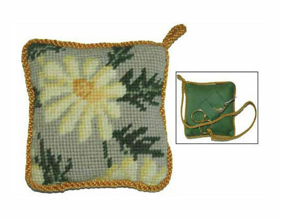 Marguerite Pin Cushion Tapestry Kit