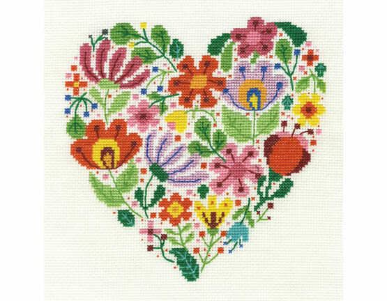 Bouquet Of Love Cross Stitch Kit