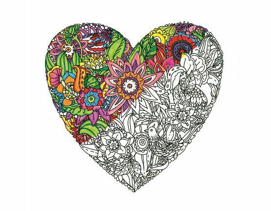 Heart Zen Colour Kit