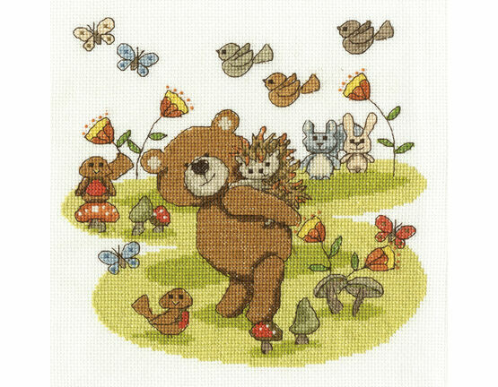 Best Buddies Cross Stitch Kit