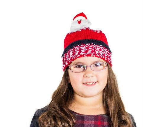 Santa Top This! Knit Kit