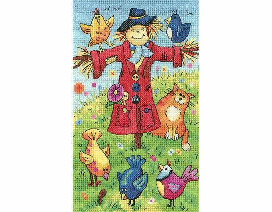 Scarecrow Cross Stitch Kit