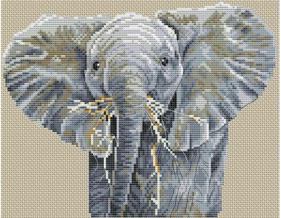 Big Is Beautiful Cross Stitch Kit