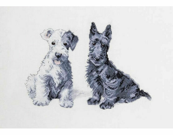 Molly & Evie Cross Stitch Kit