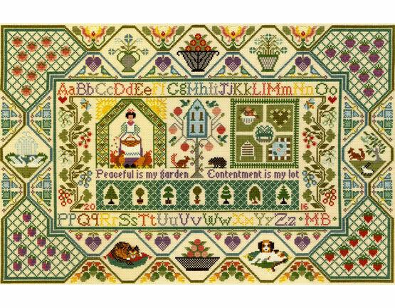 Peaceful Garden Cross Stitch Kit