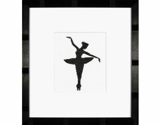 Ballet Silhouette 1 Cross Stitch Kit
