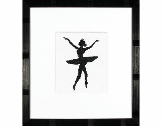 Ballet Silhouette 3 Cross Stitch Kit